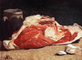 Still Life, the Joint of Meat