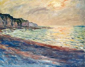 The Beach at Pourville, Setting Sun