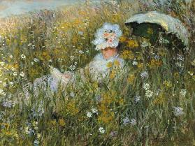 In the flower meadow (Dan of La Prairie)