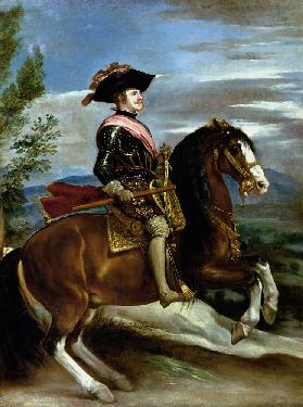 Equestrian Portrait of King Philip IV of Spain (1605-65)