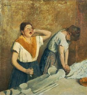 The Laundresses (The Ironing) c.1874-76
