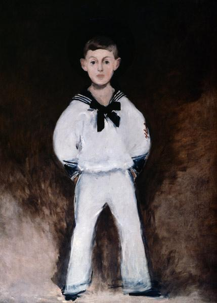 Henry Bernstein / Painting by Manet