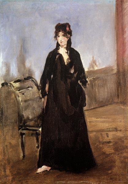 Portrait of Berthe Morisot (1841-95) in Pink Shoes