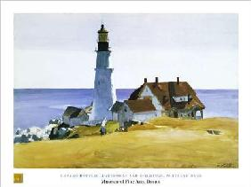 Lighthouse and Buildings - (EH-54)