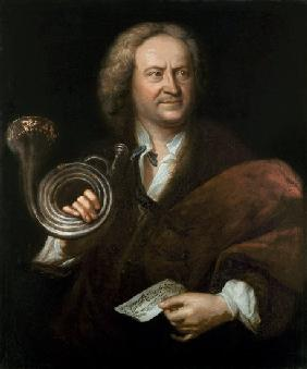 Gottfried Reiche (1667-1734), Senior Musician and Solo Trumpeter of Bach's Orchestra