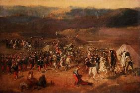 The Capture of the Retinue of Abd-el-Kader (1808-83) or, The Battle of Isly in 1844