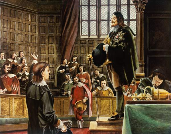 Charles I in the House of Commons