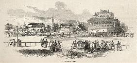Shrewsbury Races, from ''The Illustrated London News'', 24th May 1845