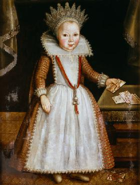 Lady Diana Russell as a Child