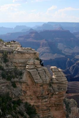 Grand Canyon - Blick vom South Rim