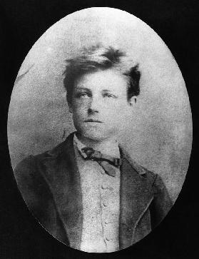 Portrait of Arthur Rimbaud (1854-91), c.1870 (b/w photo)