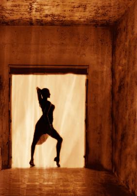 Dancer at the window II
