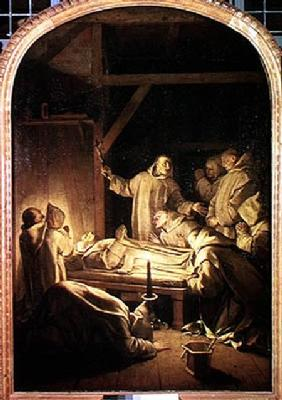 The Death of St. Bruno (1030-1101) 6th October 1101