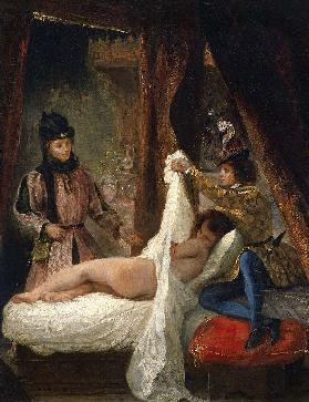 The Duke of Orléans showing his Lover