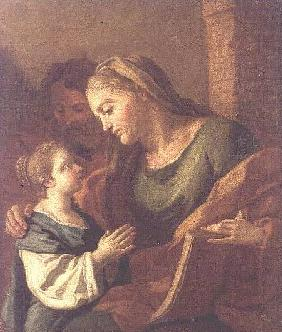St. Anne Instructing the Christ Child