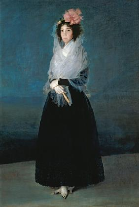 Portrait the Comtesse del Carpio