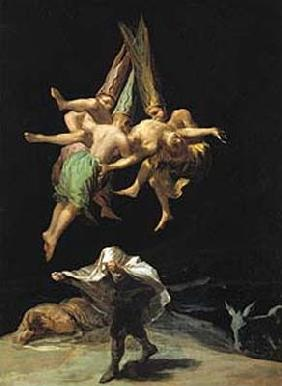 Flight of witches