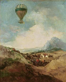 The Balloon or, The Ascent of the Montgolfier