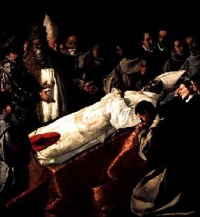 The Exhibition of the Body of St. Bonaventure (1221-74)