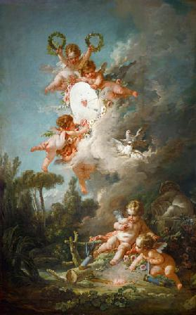 Cupid's Target, from 'Les Amours des Dieux'
