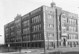 View of Anthony Wayne School, 1914 (b/w photo)