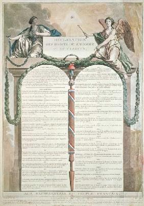 Declaration of the Rights of Man, 10th August