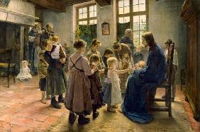 Let come the child flax come to me 1884
