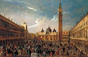 The Last Day of the Carnival, St. Mark's Square, Venice