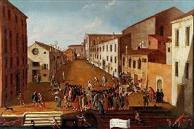 Game of Bowls in the Campo dei Gesuiti, Venice