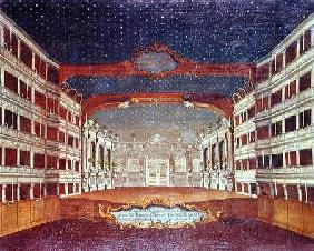 Interior of the San Samuele Theatre, Venice