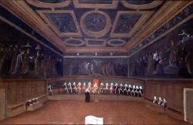 The Room of the Council of Ten, Doges' Palace, Venice