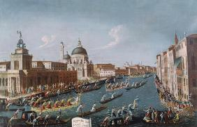 The Women's Regatta on the Grand Canal, Venice