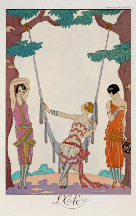 Summer, from 'Gazette du Bon Ton', 1925
