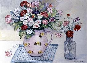 Carnations and Daisies, 1989