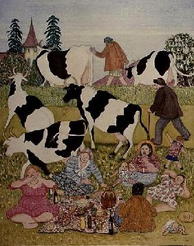 Picnic with Cows
