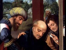 St. Catherine and the Philosophers (detail of the Philosophers), see 80755