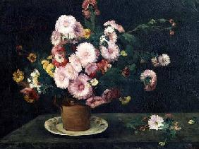 Still life with asters