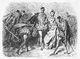 King and court, illustration from the ''Essais'' Michel Eyquem de Montaigne (1533-92)