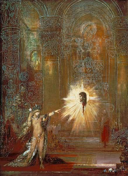 G. Moreau / The Apparition (Salome)