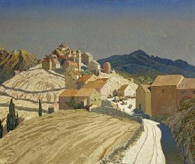 St Pierre in Corsica, c.1933 (oil on canvas)