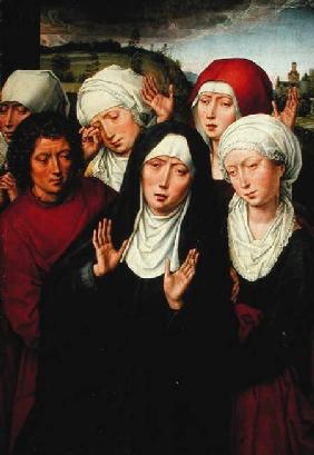 The Holy Women, right hand panel of the Deposition Diptych