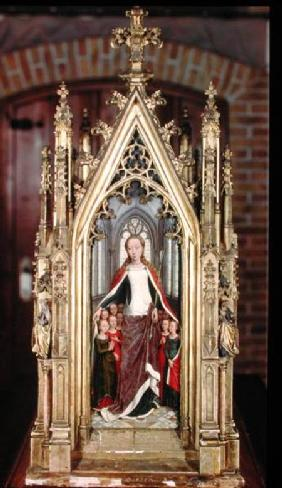 St. Ursula and the Holy Virgins, from the Reliquary of St. Ursula