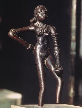 Figure of a young dancer, from Mohenjo-Daro, Indus Valley, Pakistan