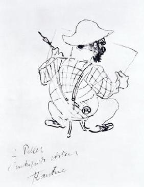 Self Portrait, 1896 (litho)