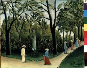 The Luxembourg Gardens, Monument to Shopin