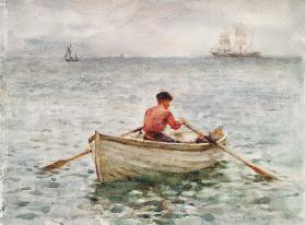 The Waterman and His Boat