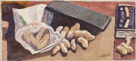 Monkey Nuts, c.1930 (pencil & w/c on paper)