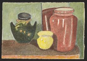 Pottery, c.1930 (pencil & w/c on paper)