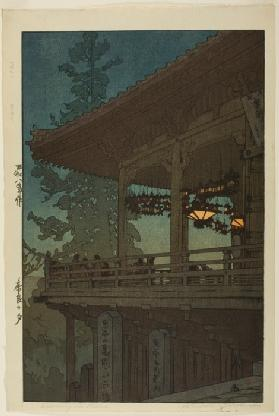 "Evening in Nara, from the series ""Kansai District"""