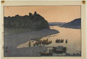 "The Kiso River, from the series ""Hotei #85"""